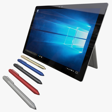 Microsoft Surface Pro 4 3D Model
