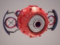 Robot D37m701 3D Model