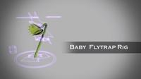 Free Baby Venus Flytrap for Maya 0.1.1