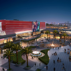 Commercial Plaza 026 3D Model