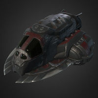Pirate's SpaceShip 3D Model