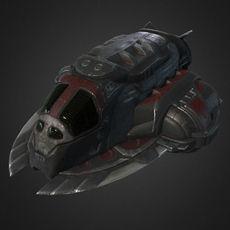 Pirate's SpaceShip 3D Model