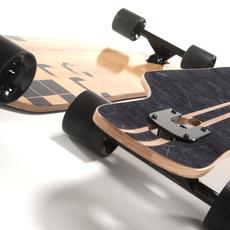 realistic longboard 3D Model