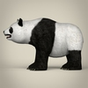 17 55 21 253 low poly realistic giant panda 03 4