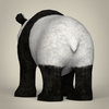 17 55 25 528 low poly realistic giant panda 04 4
