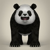 17 55 44 78 low poly realistic giant panda 02 4