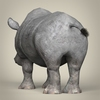 17 55 48 155 low poly realistic rhinoceros 04 4
