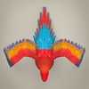 17 55 52 801 low poly realistic parrot 07 4