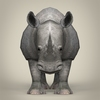 17 56 06 366 low poly realistic rhinoceros 02 4