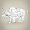 17 56 12 183 low poly realistic rhinoceros 08 4