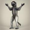 17 56 12 966 low poly realistic sifaka lemur 01 4