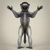 17 56 13 807 low poly realistic sifaka lemur 02 4