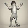17 56 15 170 low poly realistic sifaka lemur 04 4