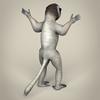 17 56 16 186 low poly realistic sifaka lemur 05 4