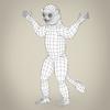 17 56 20 182 low poly realistic sifaka lemur 08 4