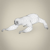 17 56 28 947 low poly realistic sloth 08 4