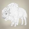 17 56 57 859 low poly realistic montana buffalo 08 4