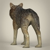 17 57 10 699 low poly realistic wolf 04 4