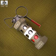 M84 Stun Grenade 3D Model