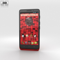 Motorola Droid Mini Red 3D Model