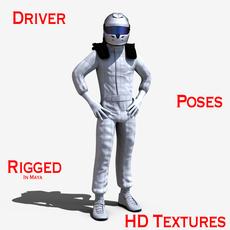 Driver 3D Model