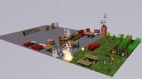 Minecraft object pack 3D Model