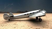 Lockheed Model 10 Electra 3D Model