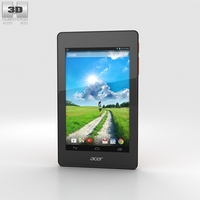 Acer Iconia One 7 B1-730 Orange 3D Model