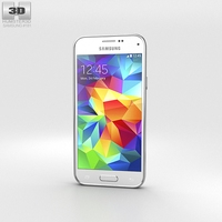 Samsung Galaxy S5 mini Shimmery White 3D Model