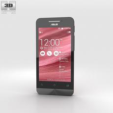 Asus Zenfone 4 Cherry Red 3D Model