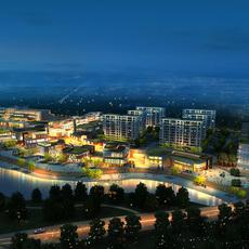 Commercial Plaza 027 3D Model