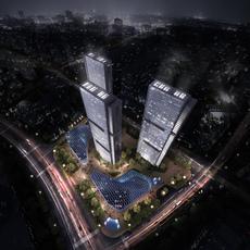 Commercial Plaza 028 3D Model