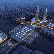 Commercial Plaza 029 3D Model