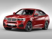 BMW X4 (2015) 3D Model