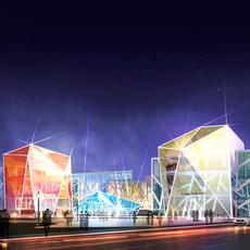 Commercial Plaza 031 3D Model