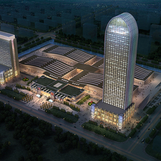 Commercial Plaza 032 3D Model