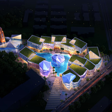 Commercial Plaza 033 3D Model