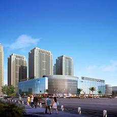 Commercial Plaza 035 3D Model