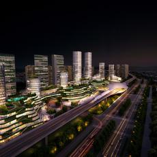 Commercial Plaza 040 3D Model