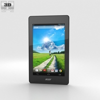 Acer Iconia One 7 B1-730 White 3D Model