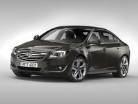Opel Insignia (2014) 3D Model
