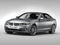 BMW 5 Series F10 (2015) 3D Model