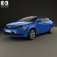 Chrysler 200 S 2015 3D Model