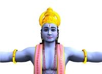 Lord Vishnu 3D Model