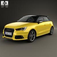 Audi S1 sportback 2014 3D Model