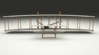 Wright Flyer 1903 3D Model