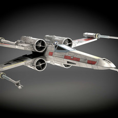 Star Wars X-Wing Fighter mk1 3D Model