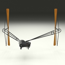 Wright Flyer Propulsion 3D Model