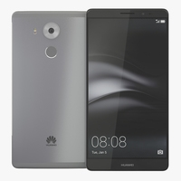 Huawei Mate 8 3D Model