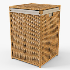 Laundry Basket Ikea Branas 3D Model